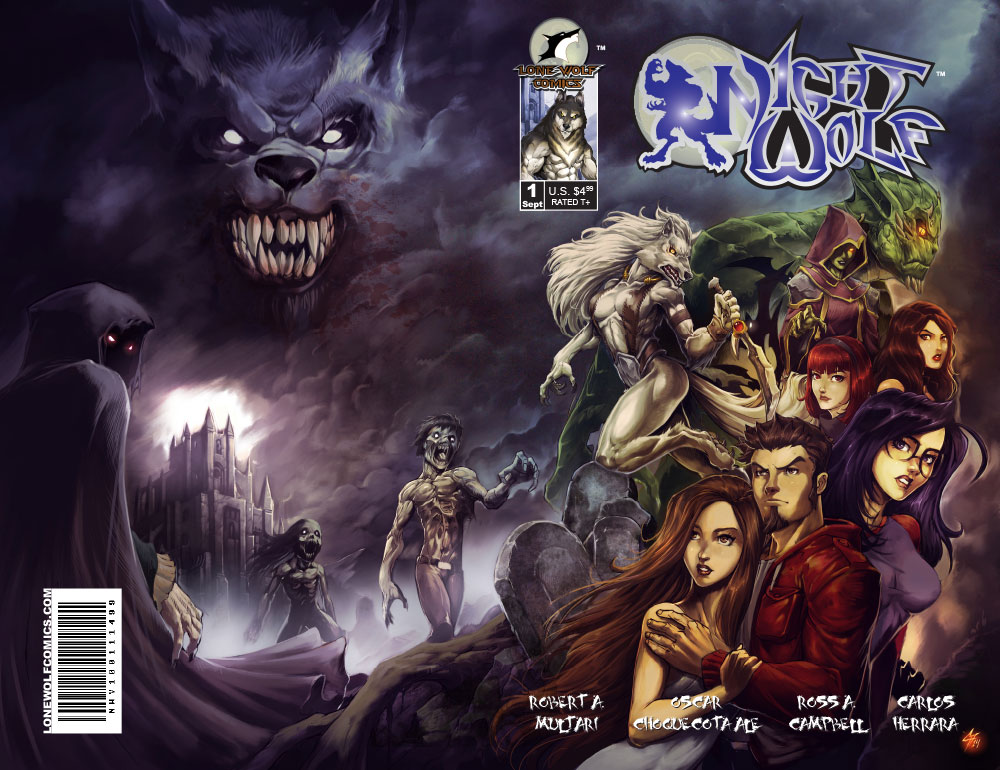 Night Wolf Volume 1 Issue 1 Cover
