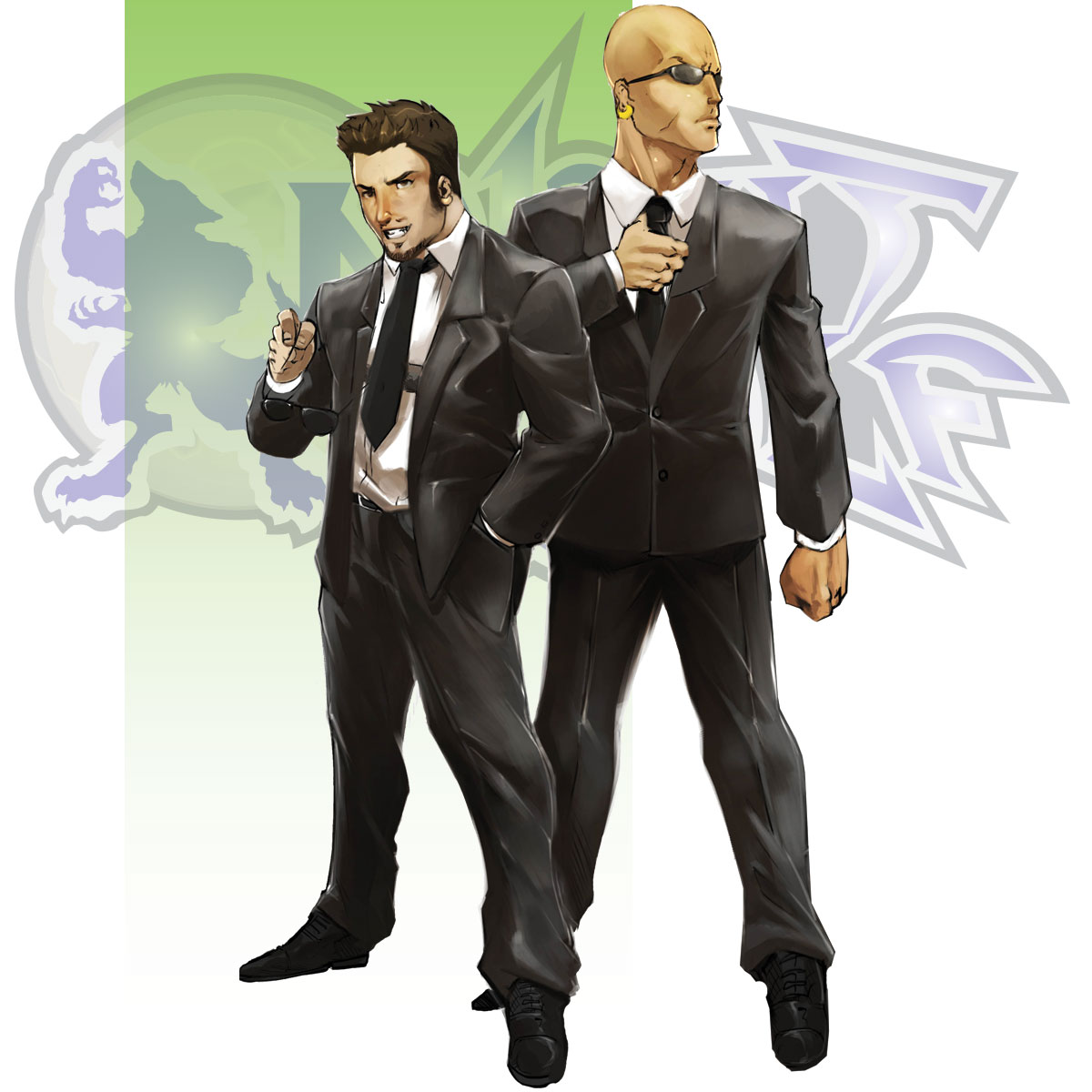 Character Bio - Agent Bokor and Agent Hyde